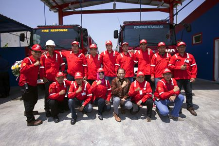 ECCO Indonesia facilitates new fire station