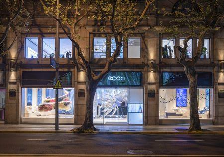 ECCO opens flagship shop in Shanghai