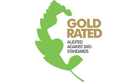 ECCO's tanneries are gold rated