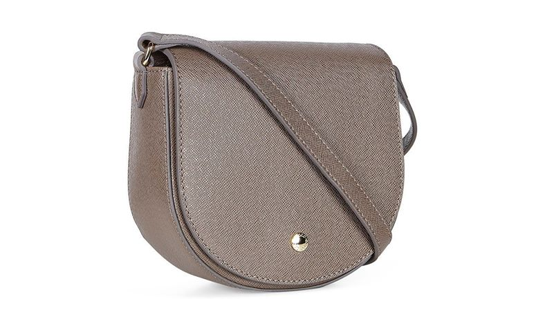 Iola Small Saddle Bag (طوسی)