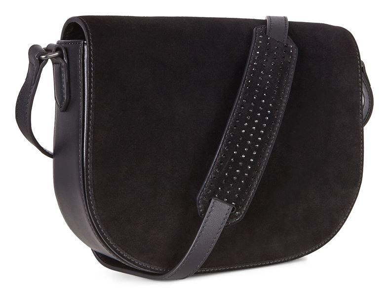 Joliet Medium Saddle Bag (مشکی)