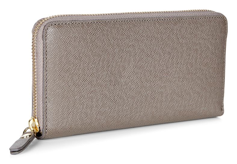 Iola Large Zip Wallet (طوسی)