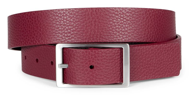 Hesa Reversible Belt (قرمز)
