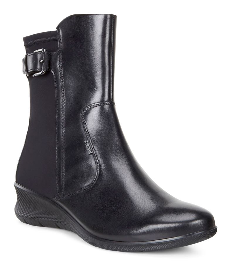 BABETT WEDGE (Black)