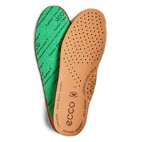 Mens CFS Leather Insole (Castanho)