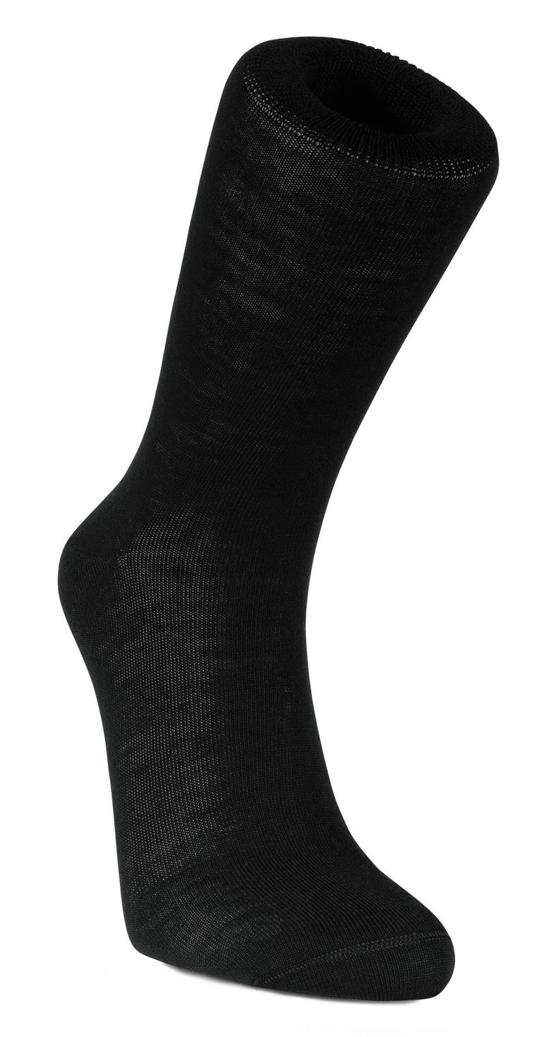 Business Sock Wool (Negro)