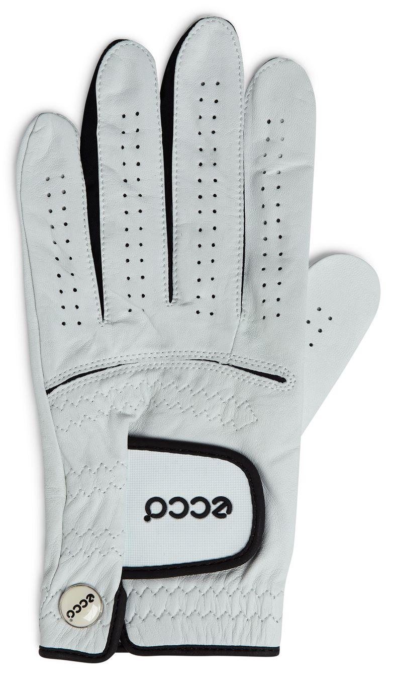 Mens Golf Glove (White)