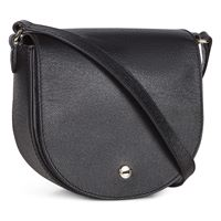 Iola Small Saddle Bag (Black)