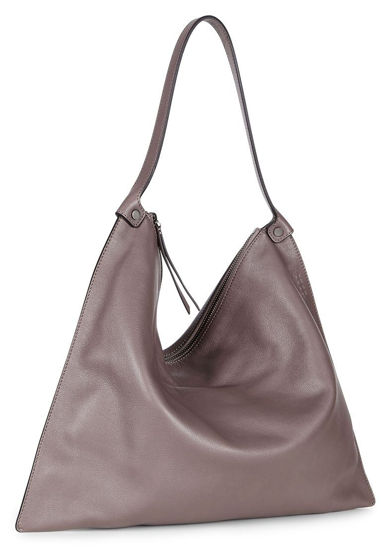 Sculptured Shoulder Bag (Cinzento)