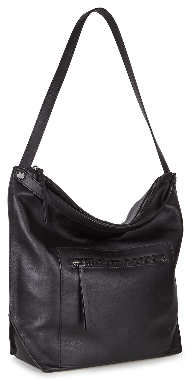 Sculptured Hobo Bag (黑色)