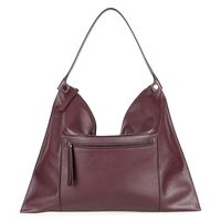 Sculptured Shoulder Bag 2 (أحمر)
