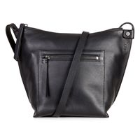 Sculptured Crossbody (Negro)