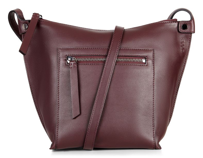 Sculptured Crossbody (Red)