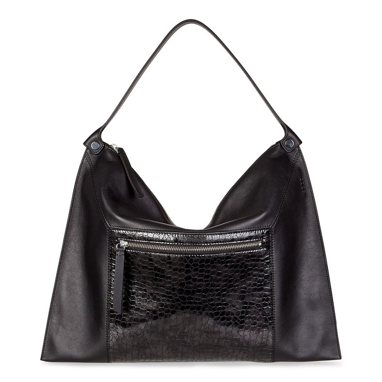 Sculptured Shoulder Bag 2 (Black)