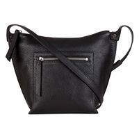 Sculptured Crossbody (Black)