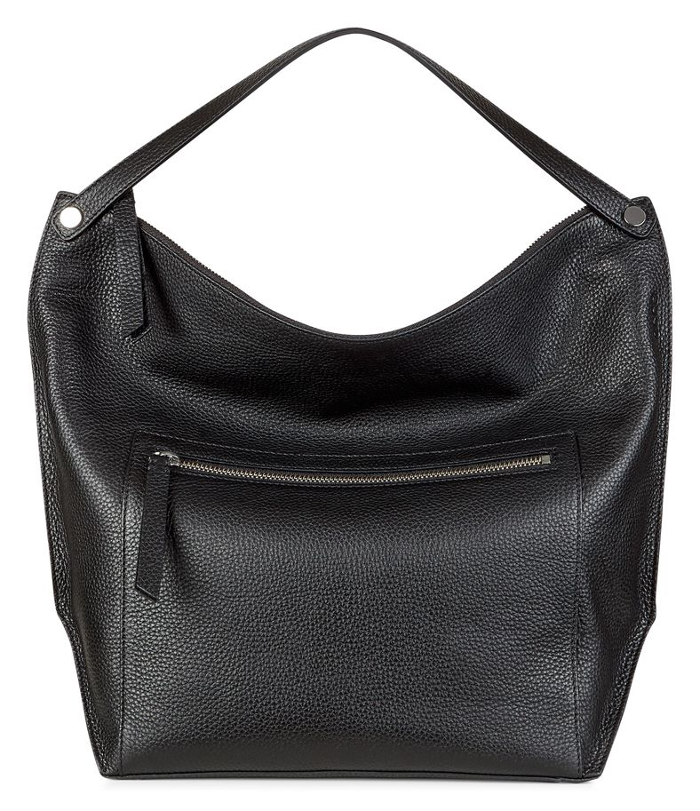 Sculptured Hobo Bag (Negro)