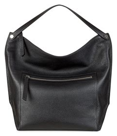 Sculptured Hobo Bag