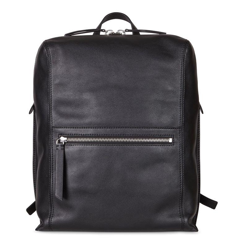 Sculptured Backpack (Black)