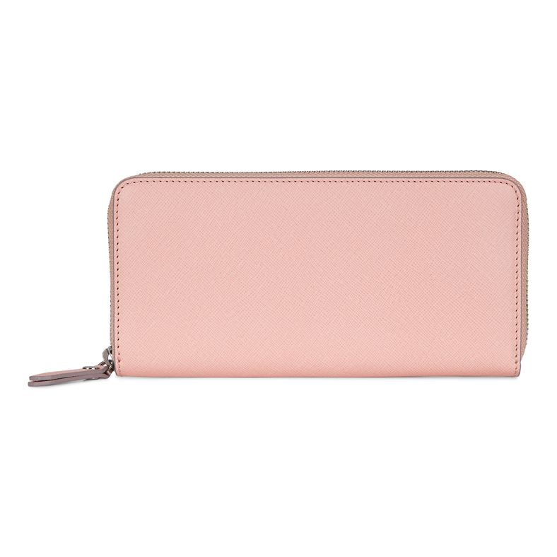 Iola Large Zip Wallet (Rosso)