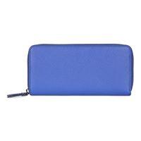 Iola Large Zip Wallet (藍色)
