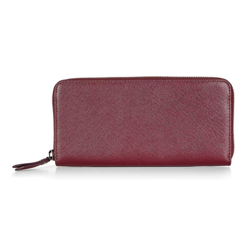 Iola Large Zip Wallet (Rojo)