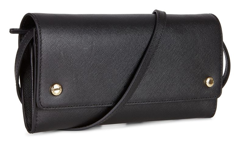 Iola Clutch Wallet (Negro)
