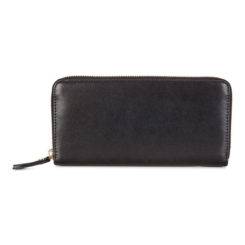 Kauai Large Zip Wallet (黑色)