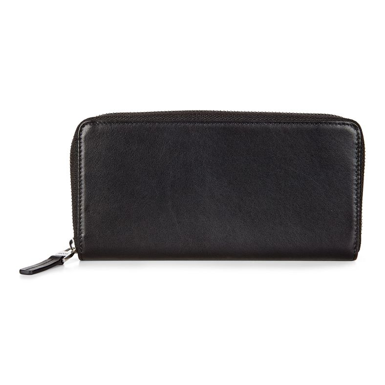 Konya Large Zip Wallet (Nero)