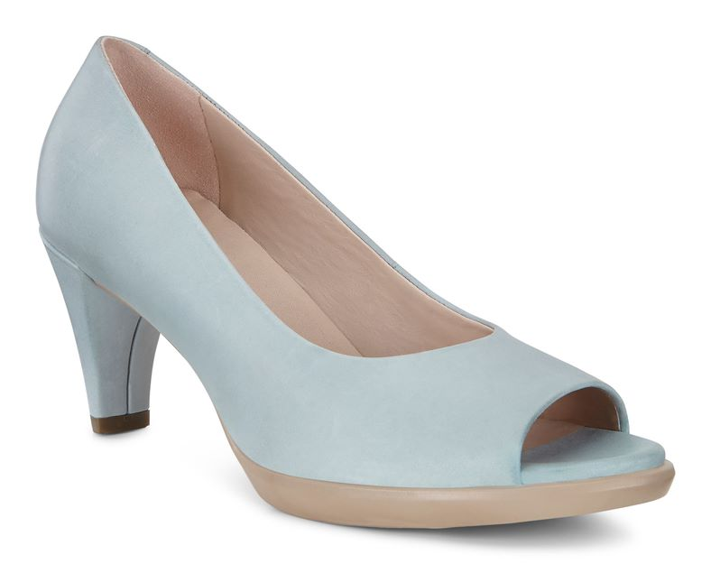 SHAPE 55 PEEP TOE SLEEK (آبی)