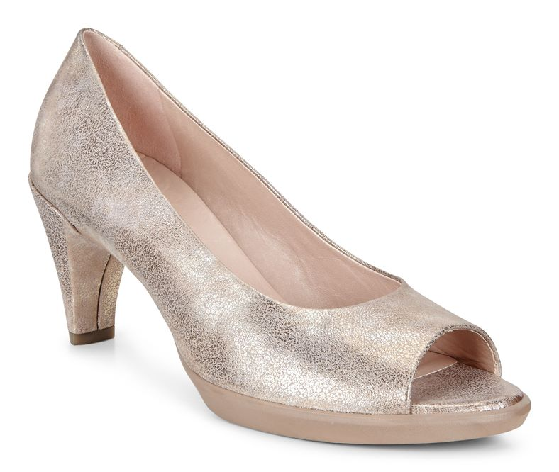 SHAPE 55 PEEP TOE SLEEK (Beige)