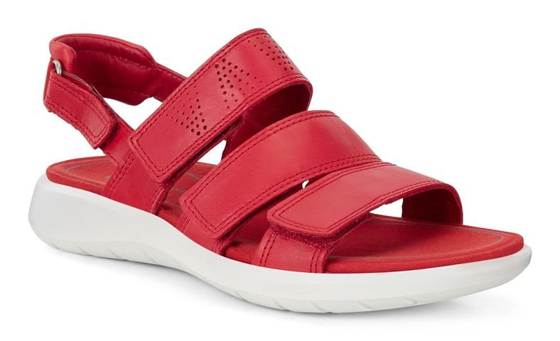 SOFT 5 SANDAL (Red)