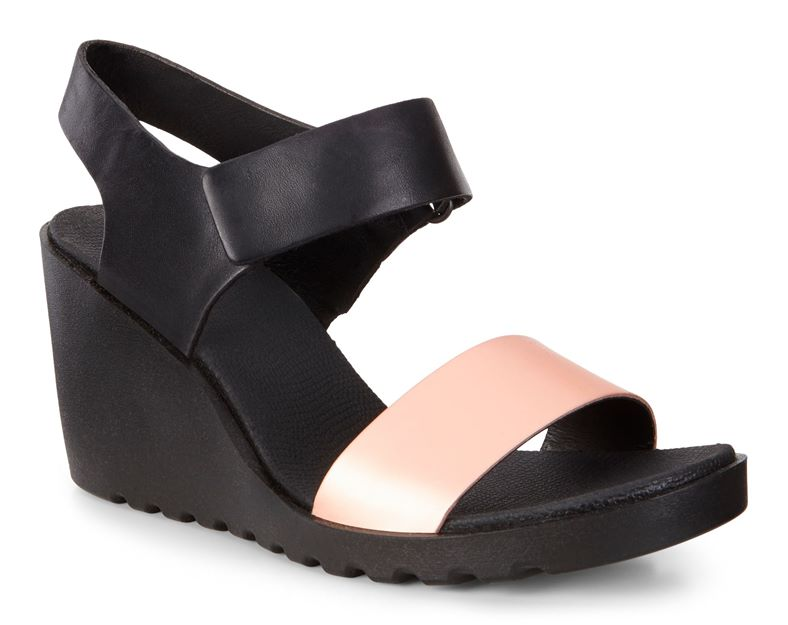 FREJA WEDGE SANDAL (Black)