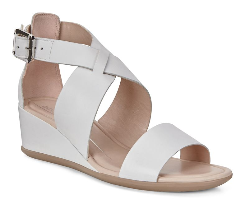 SHAPE 35 WEDGE SANDAL (Bianco)