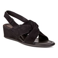 SHAPE 35 WEDGE SANDAL (أسود)