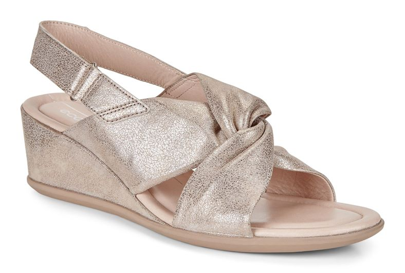 SHAPE 35 WEDGE SANDAL (Metallic)