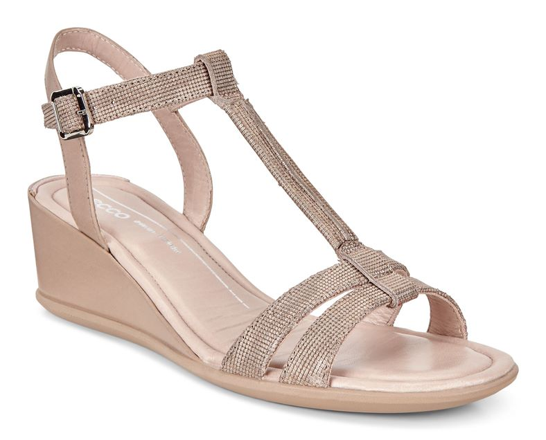 SHAPE 35 WEDGE SANDAL (金屬光澤)
