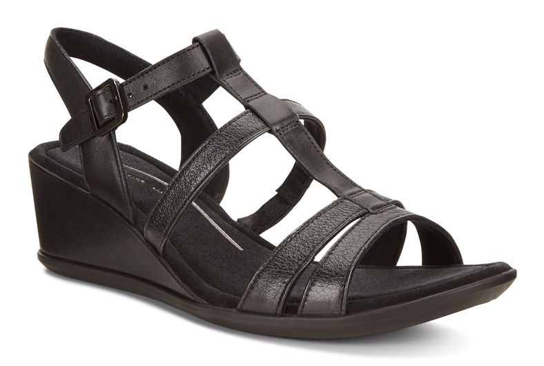 SHAPE 35 WEDGE SANDAL (黑色)