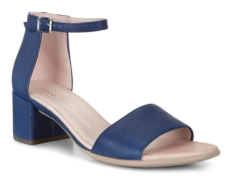 SHAPE 35 BLOCK SANDAL (Blue)
