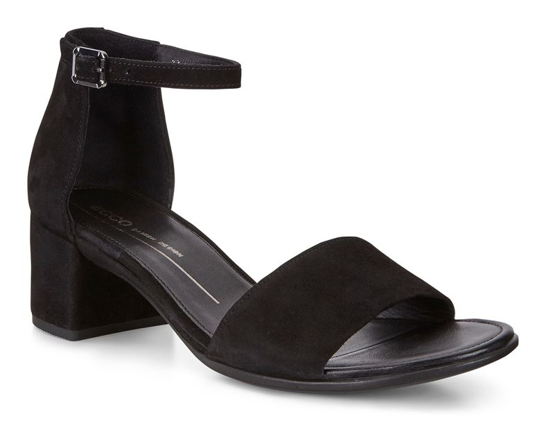 SHAPE 35 BLOCK SANDAL (Nero)