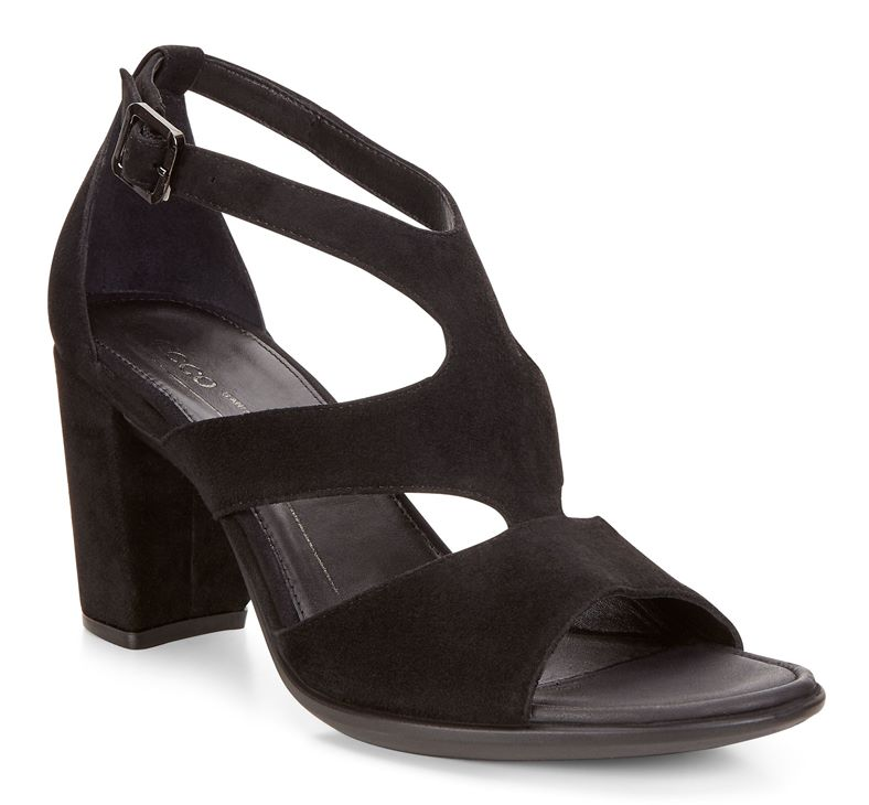 SHAPE 65 BLOCK SANDAL (Black)