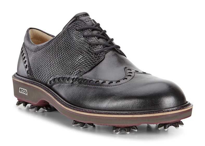 MEN'S GOLF LUX (Fekete)