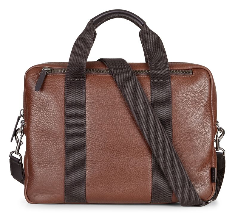 Eday L Laptop Bag (قهوه ای)