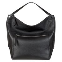 Sculptured Hobo Bag (Nero)