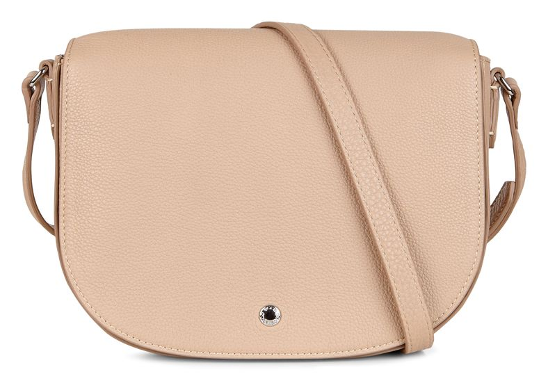 Kauai Medium Saddle Bag (Beige)