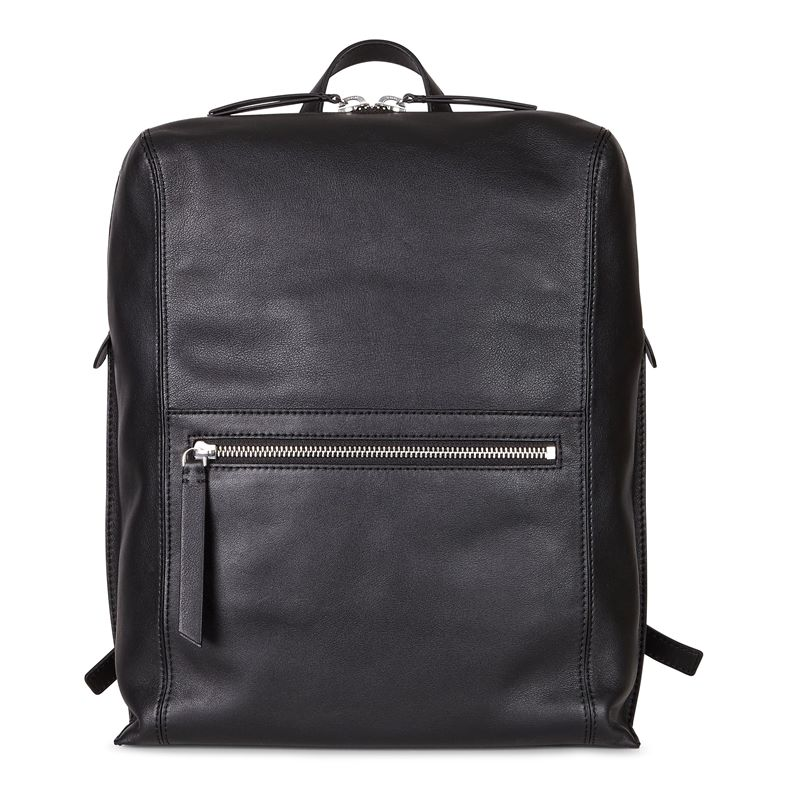 Sculptured Backpack (Black)