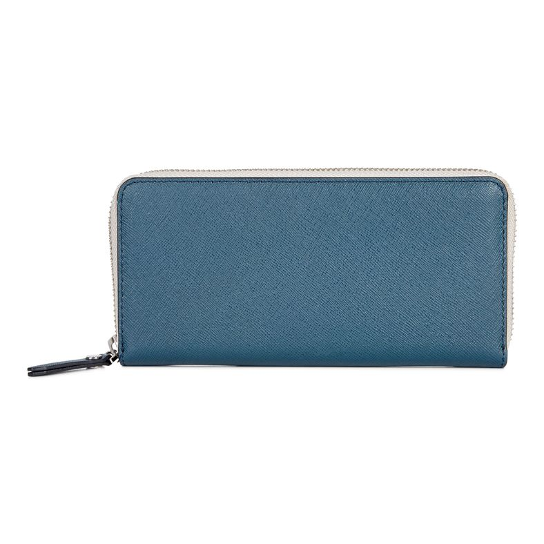 Iola Large Zip Wallet (Green)