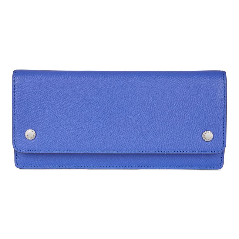 Iola Slim Wallet (Blue)