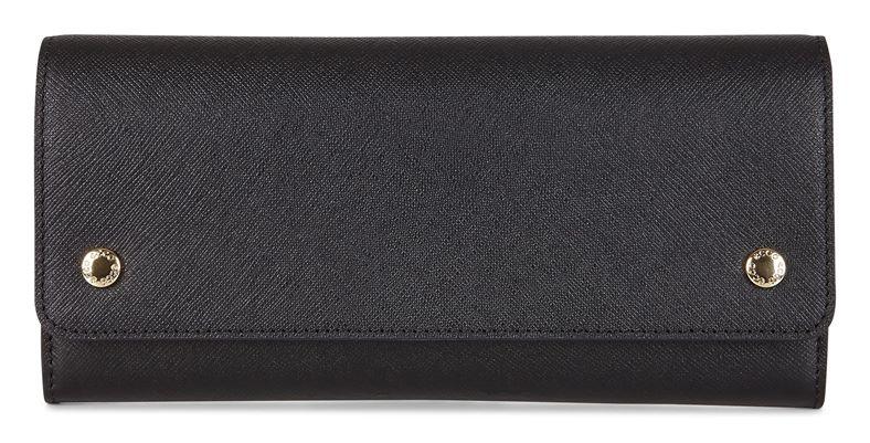 Iola Continental Wallet (Black)