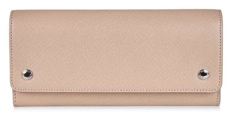 Iola Continental Wallet (Beige)