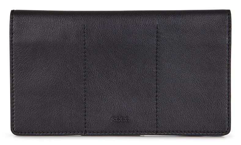 Sculptured Large Wallet (Preto)
